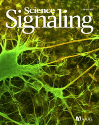 Science signaling cover